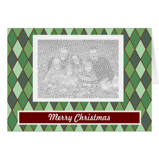 Christmas Argyle Card