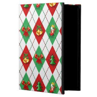 Christmas Argyle iPad Air Cover