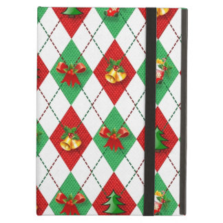 Christmas Argyle iPad Air Cover