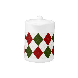 Christmas Argyle pattern