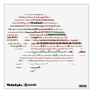 Christmas Around The World Elf Hat Decal