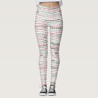 Christmas Around The World Leggings