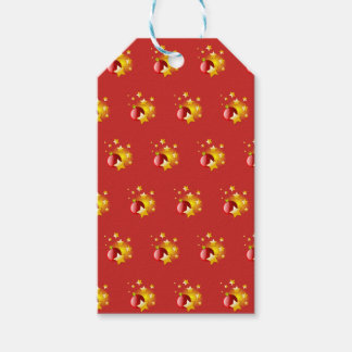 Christmas arrangements gift tags