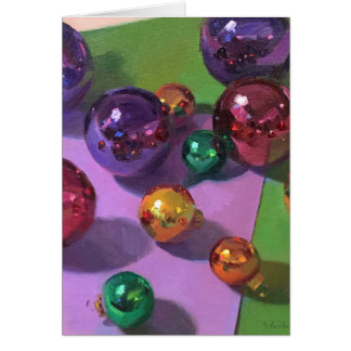 "Christmas Art Card ""All That Glitters"""