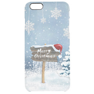 Christmas art - christmas illustrations clear iPhone 6 plus case