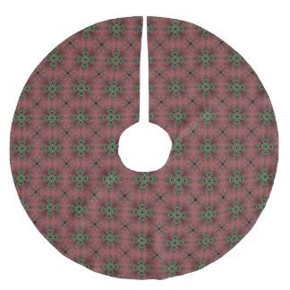 Christmas Artdeco in Retro Style Brushed Polyester Tree Skirt