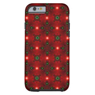 Christmas Artdeco in Retro Style Tough iPhone 6 Case