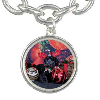 Christmas - Asher - Poodle Charm Bracelet