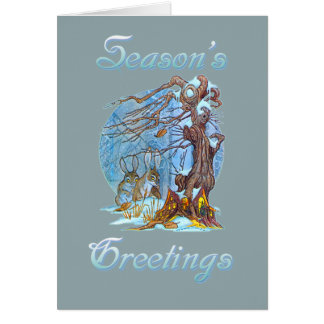 Christmas at Elf Hall Card