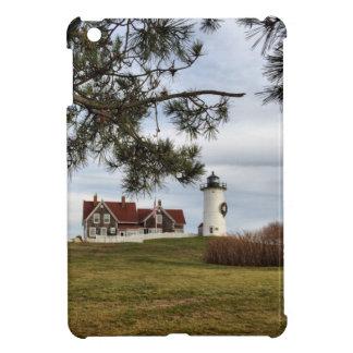 Christmas at Nobska Lighthouse Cape Cod Gifts iPad Mini Covers