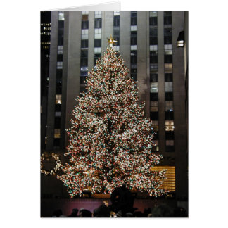 Christmas at Rockefeller Center Card