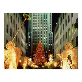 Christmas at Rockefeller Center Postcard