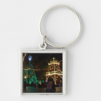 Christmas At Silver Dollar City 2 Keychain