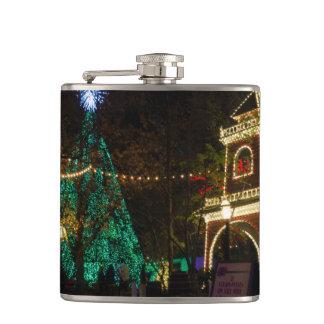 Christmas At Silver Dollar City Flasks