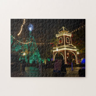Christmas At Silver Dollar City Jigsaw Puzzle