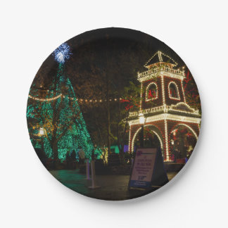 Christmas At Silver Dollar City Paper Plate