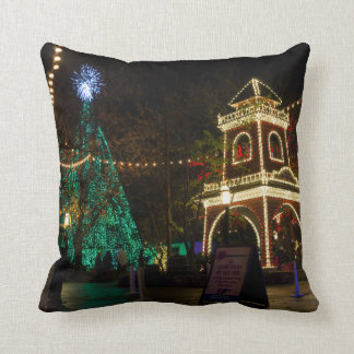 Christmas At Silver Dollar City Throw Pillow