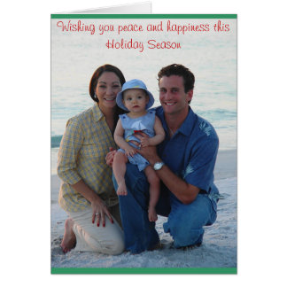 Christmas at the Beach Card