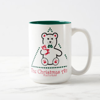Christmas Attic Mug-Fool's Gold, Califiornia Two-Tone Coffee Mug