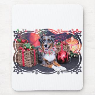 Christmas - Aussie - Kiko Mouse Pad
