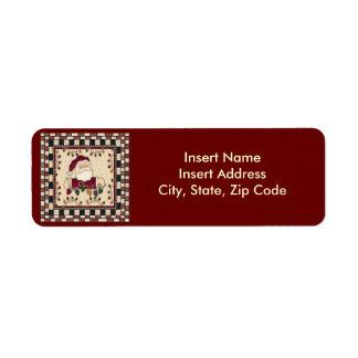 Christmas Avery Address Label