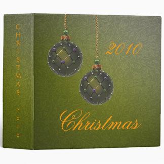 Christmas Avery Binder