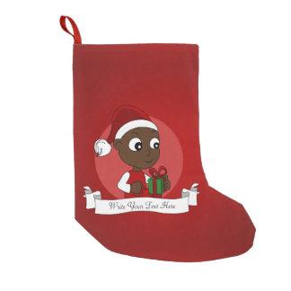 Christmas baby cartoon small christmas stocking