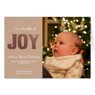 Christmas Baby Joy Card