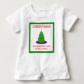 CHRISTMAS BABY ROMPER
