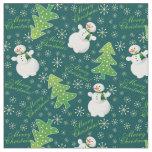 Christmas Background Fabric