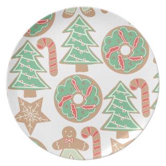 Christmas Baking Print Dinner Plates