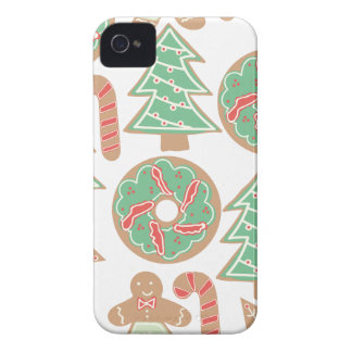 Christmas Baking Print iPhone 4 Cases