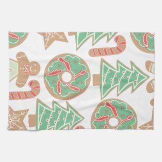 Christmas Baking Print Kitchen Towel