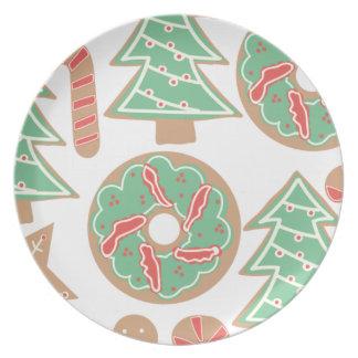 Christmas Baking Print Plate