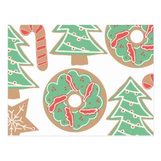 Christmas Baking Print Postcard