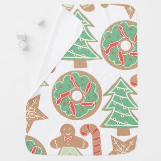 Christmas Baking Print Receiving Blanket