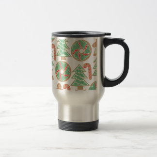 Christmas Baking Print Travel Mug