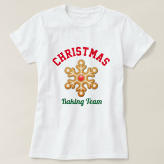 Christmas Baking Team T-Shirt