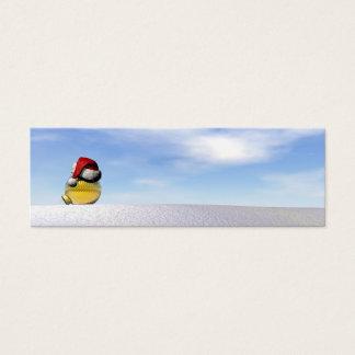 Christmas ball - 3D render Mini Business Card