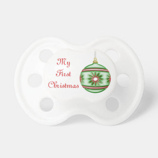 Christmas Ball #8 Pacifier