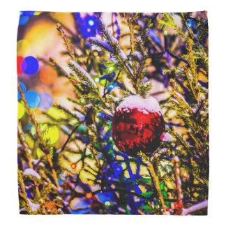Christmas Ball Red Head Kerchiefs