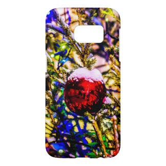 Christmas Ball Red Samsung Galaxy S7 Case