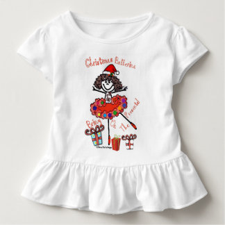 Christmas Ballerina - Bring on the presents! Toddler T-shirt