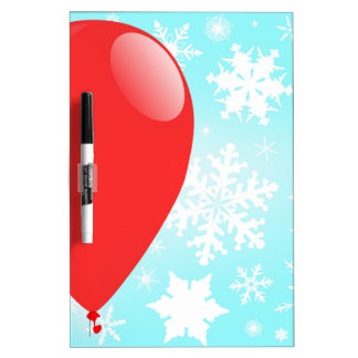 Christmas Balloon Dry Erase Board