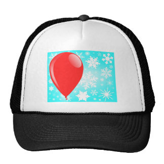 Christmas Balloon Trucker Hat