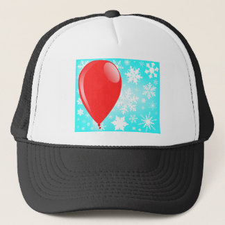 Christmas Balloon Trucker Hat