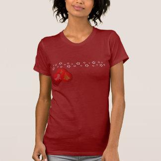 Christmas Balls And Stars Women Dark T-Shirt