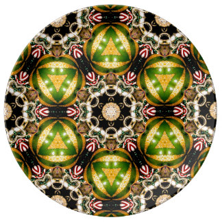 ~  Christmas Bauble Fractal ~ Plate