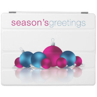 Christmas bauble iPad cover