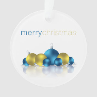 Christmas bauble ornament